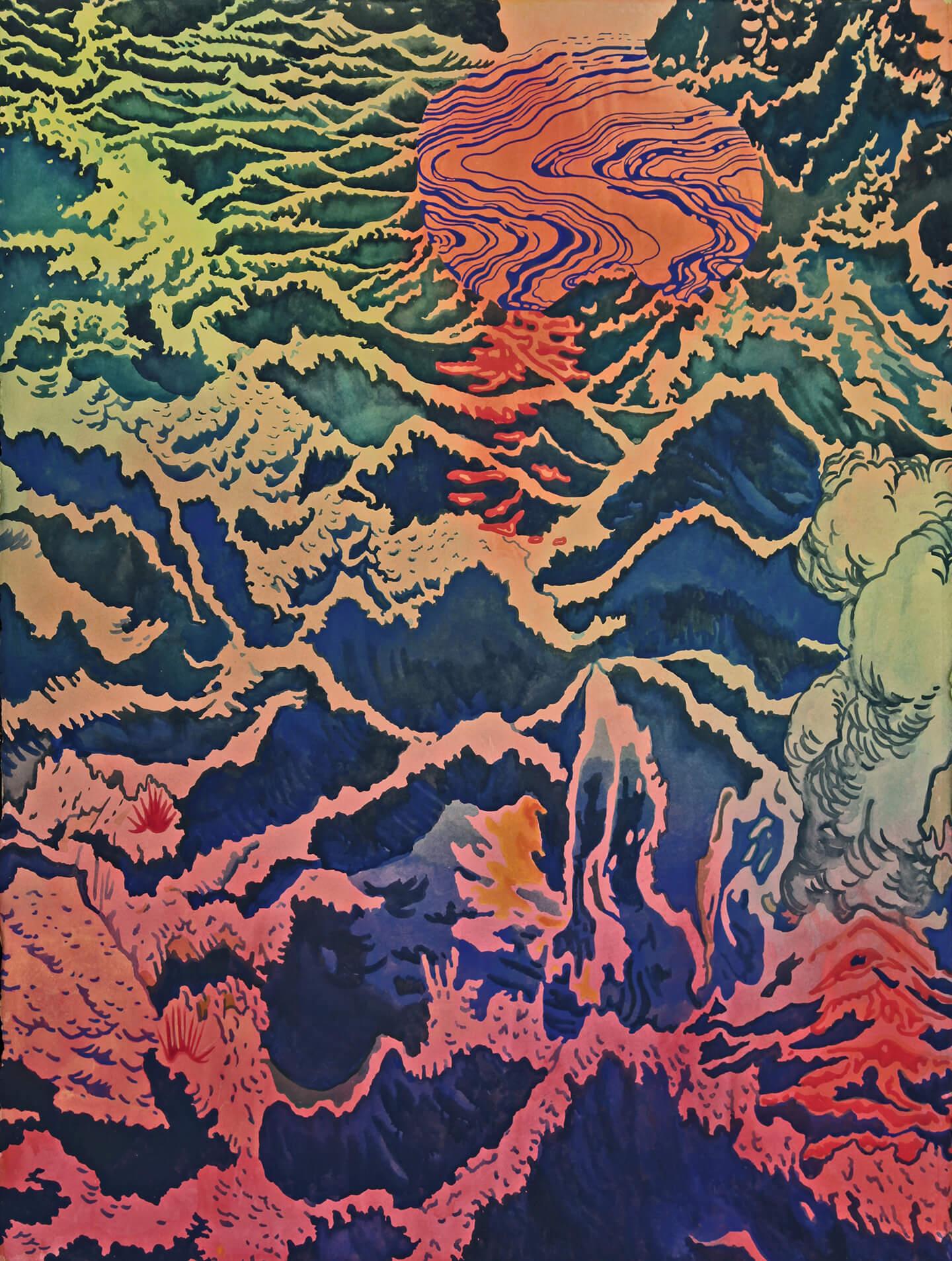 Deluge (Watercolor)
